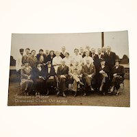 Photo Post Card Thorton Minor Dismissal Class October  1935