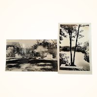 Two Travel Souvenir Photo Postcards Zalenski State Park Unused