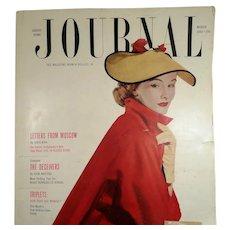 Ladies Home Journal Magazine March 1952