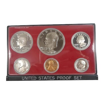 United States 1976 Bicentennial Proof Coin Set Mint in Box