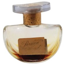 Avon Persian Wood Glass Cologne Bottle