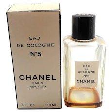 Chanel Eau De Cologne No. 5 Bottle