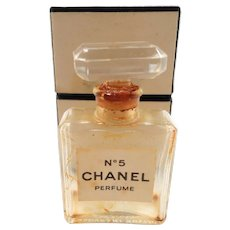 Chanel No. 5 Perfume Bottle Crystal Stopper
