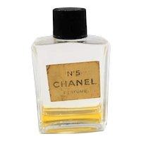 Small Chanel No. 5 Perfume Bottle
