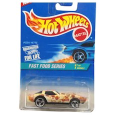 Mattel Hot Wheels Pizza Plastered Paint 1995 MIP