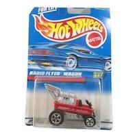 Mattel Hot Wheels 1997  Red Radio Flyer Wagon MIP