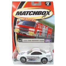 Matchbox Mattel Wheels 1999 Ford Mustang Coupe MIP