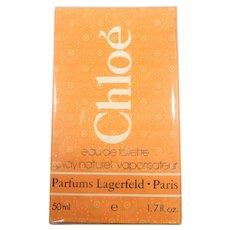 Chole Eau De Toilette Lagerfeld Paris Vintage Discontinued Sealed Box