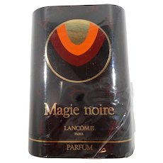 Lancome Magie Noire Parfum Vintage Rare Sealed Mint in Box