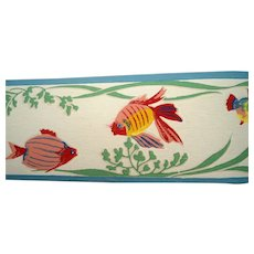 Dex Screen Printed Wallpaper Border Tropical Fish Sea Life Designs Two Rolls