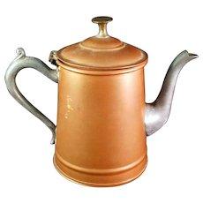 Rare Vintage Sweeneyware Copper Teapot by Sweeney Mfg of New York