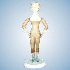 American Wood doll by Mason Taylor with original finish c1880
