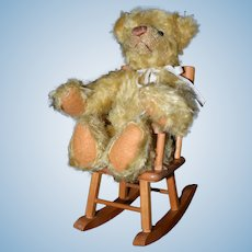 Teddy Bear 100th Anniversary Lee Middleton doll and Strombecker rocking chair