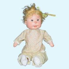 "Dianne Dengel 12"" Bunky Baby Girl Doll Early Piece"