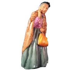 "Royal Doulton Bridget The Curious Old Woman -  8"" Tall -  #HN2070 - Red Tag Sale Item"