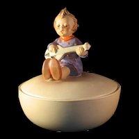 Hummel Joyful Covered Round Candy Dish 1956  # III / 53 TMK3
