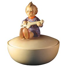 Hummel Joyful Covered Round Candy Dish 1956  # III / 53 TMK3
