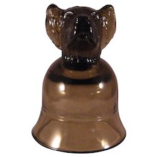 Vintage Unusual Jigger by Avon of the Chesapeake Dog Collection  - 1981