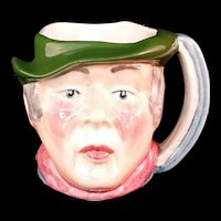 Staffordshire Character Jug Sam Weller Made in England