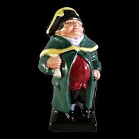 Royal Doulton figurine Bumble from Oliver Twist England circa 1960