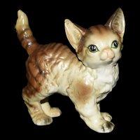 Lefton Hand painted Kitten figurine #80219 Japan 1950's