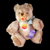 Steiff Bear - Minky Zotty 0301/28  Button and Tags  c1970