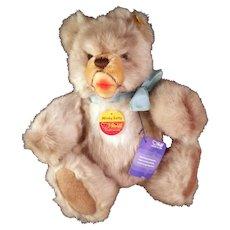 Steiff Bear - Minky Zotty 0301/28  Button and Tags  c1970