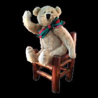 Rare Artist Chester Freeman Intellectual Teddy bear