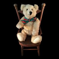 Rare Artist Chester Freeman Blonde Teddy bear