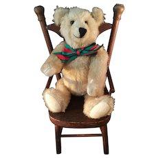 Rare Artist Chester Freeman Blonde Teddy bear