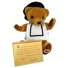 Young Bully Bear by The House of Nisbet 1982 – cert signed Peter Bull