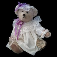 Violet Artist Teddy Bear Mary D. Olsen limited Edition #29 Signed w tags Graham Gridley Bear C.