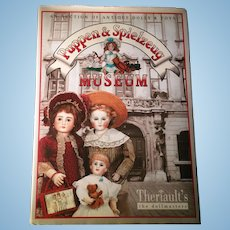 Puppen & Spielzeug Museum Theriault's  Auction Book of Antique Dolls & Toys 2007