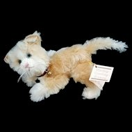 Kathy Corley stuffed Mohair Kitten fully jointed NWT 1995 signed