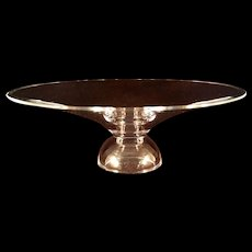 "Large Steuben Magnolia Centerpiece Bowl 11 ¾"" Modern"