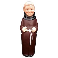 Goebel Friar Tuck or Monk Decanter West Germany c1970