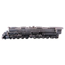 Pewter Miniature Locomotive by Franklin Mint 1985