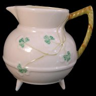 Belleek Shamrock Creamer 5th Mark 1955-1965