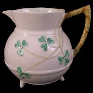 Belleek Shamrock Creamer pot - Fourth Mark - 1946-1955