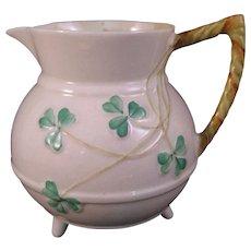 Belleek Shamrock Creamer pot - Fourth Mark - 1946-1955