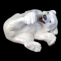 Royal Copenhagen Porcelain Polar Bear Cub #729 Signed FP
