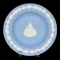 St Pauls Cathedral Wedgwood round trinket dish  Vintage