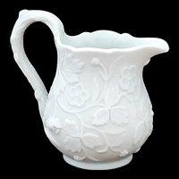 Antique Copeland Parian Floral Creamer