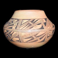Native American Seed Pot by Anita Polacca Signed 1991 Hopi Pueblo Pottery
