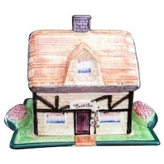 Maruhon Cottage ware Farmhouse The Cheese Inn Made in Japan c1940