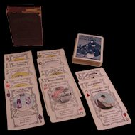 Going to Market Advertising Playing Cards 1915 Kelly-Springfield Tire Co.