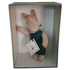 R. John Wright Piglet Doll Winnie The Pooh Collection # 80/1000 - Red Tag Sale Item