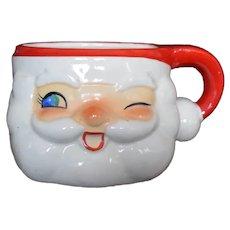 Winking Santa Mug by Holt Howard 1960