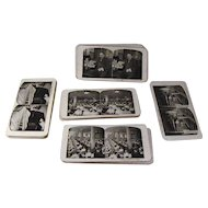 Scenes of Sears Roebuck & Co. Operation Chicago Illinois Complete Set of 50 Early Stereoview Cards