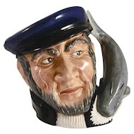 "1958 Large Royal Doulton Figural ""Capt Ahab"" Toby Mug Limited Edition"